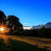 Sonnenuntergang in Rohrmoos