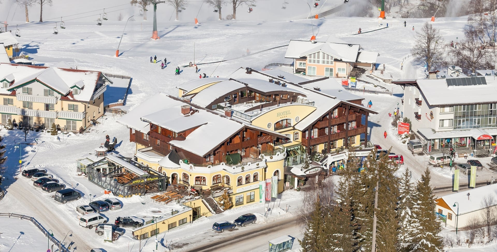 Hotel Erlebniswelt im Winter