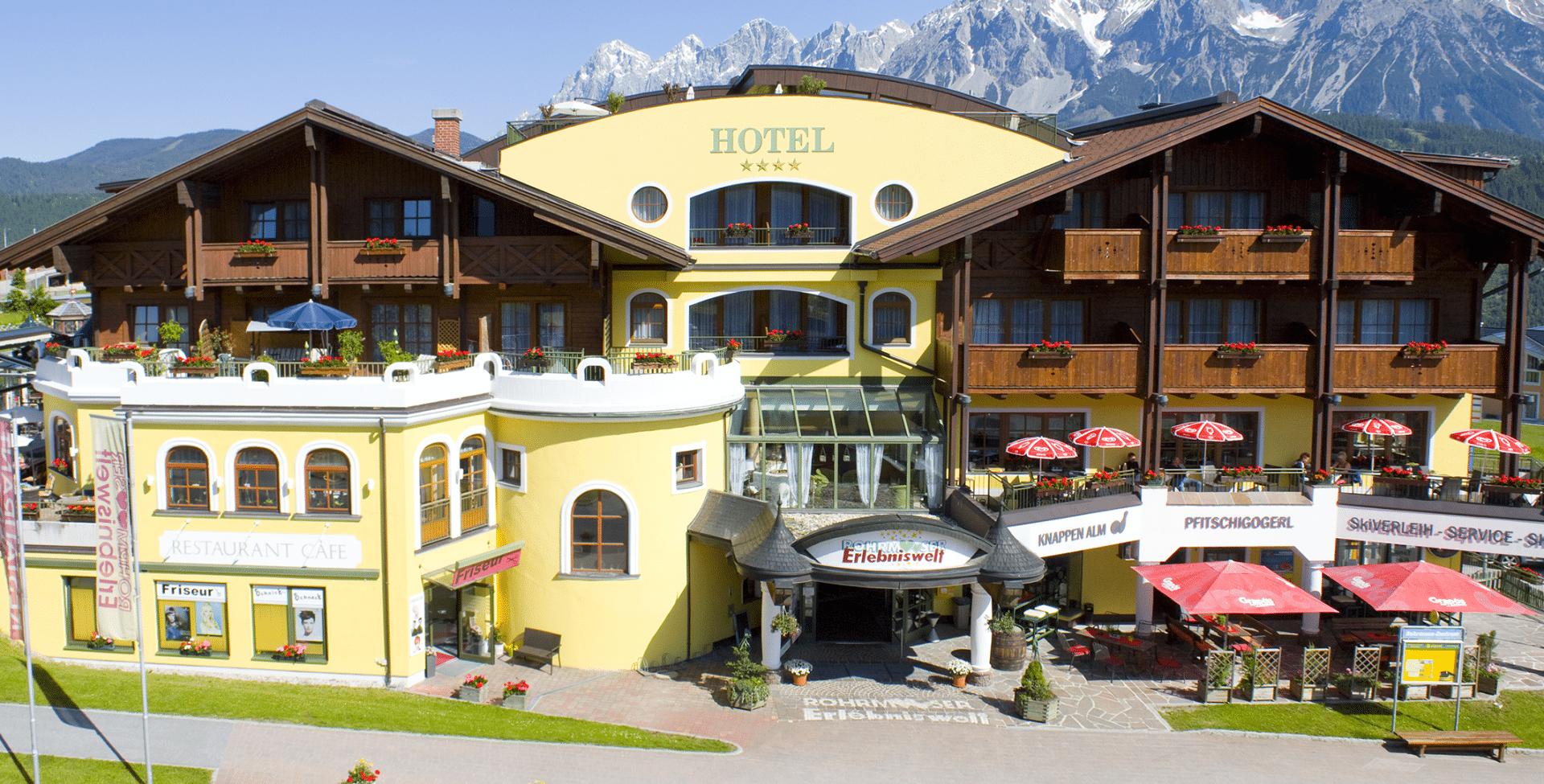 Hotel Erlebniswelt im Sommer