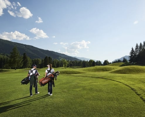 Golf Safari shooting in Schladming